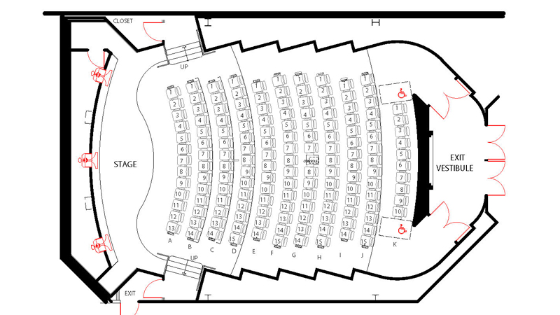 DGA Theater 2 Plot Plan